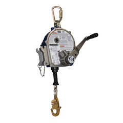 Sealed-Blok™ Self Retracting Lifeline 50 ft. (15m) - Retrieval/Bracket - Barry Cordage