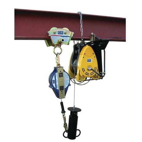 Remote Power Tagline for Self Retracting Lifeline