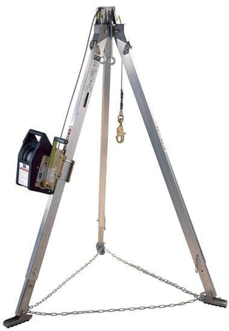 Advanced™ Aluminum Tripod with Salalift™ II Winch 7 ft. (2.1 m) - Barry Cordage