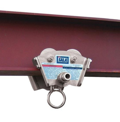 Trolley for I-Beam - Stainless Steel