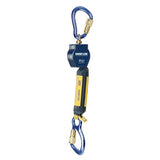Nano-Lok™ Self Retracting Lifeline with Anchor Hook - Web - Swiveling Aluminum Carabiner/Aluminum Carabiner