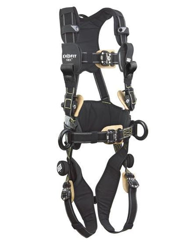 ExoFit NEX™ Arc Flash Construction Style Positioning/Rescue Harness (size Medium) - Barry Cordage