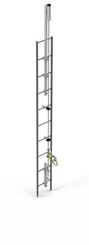 Lad-Saf™ for Fixed Ladder (Bolt-On) - Galvanized 200 ft. (61 m) - Barry Cordage