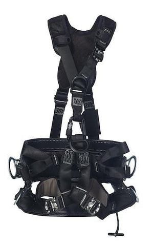 ExoFit NEX™ Lineman Suspension Harness with SEAT-BELT™ 4D (size Small) - Barry Cordage