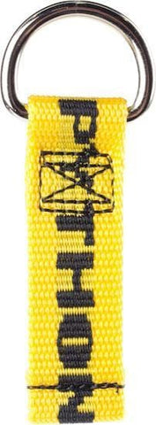 "Python Safety™ D-Ring Attachment 1"" x 3.5"" (50 Pack) - Barry Cordage"