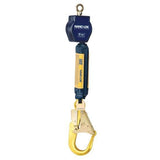 Nano-Lok™ Self Retracting Lifeline - Web - Swiveling Loop/Aluminum Rebar Hook