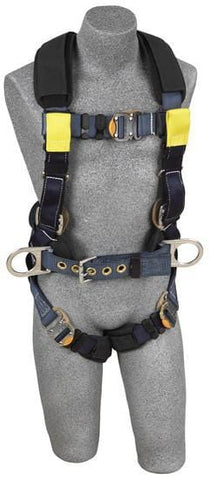 ExoFit™ XP Arc Flash Construction Harness - Dorsal/Rescue Web Loops (size Large) - Barry Cordage