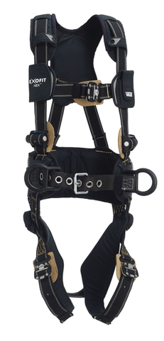 ExoFit NEX™ Arc Flash Construction Style Positioning Harness (size Large) - Barry Cordage