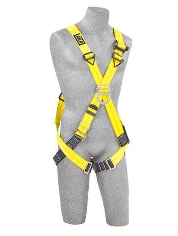 Delta™ Cross-Over Style Climbing Harness (size X-Large) - Barry Cordage