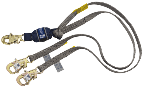Force2™ Tie-Back 100% Tie-Off Shock Absorbing Lanyard