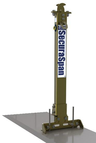 SecuraSpan™ Rebar/Shear Stud HLL Stanchion with Base - Barry Cordage