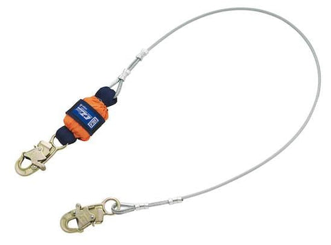 EZ-Stop™ Leading Edge Cable Shock Absorbing Lanyard - Barry Cordage