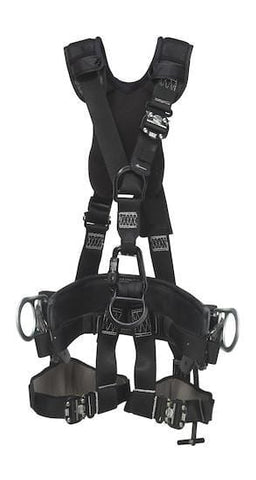 ExoFit NEX™ Lineman Suspension Harness with 2D Belt (size X-Large) - Barry Cordage