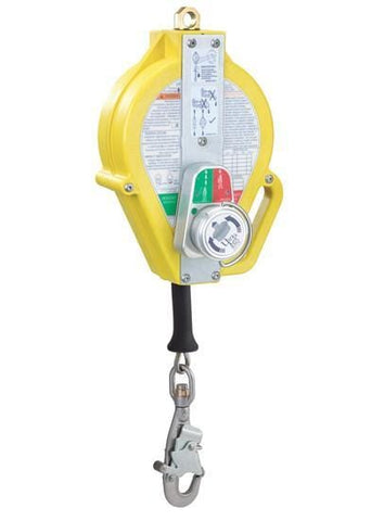 Ultra-Lok™ RSQ™ Self Retracting Lifeline 50 ft. (15.2m) - Cable with stainless steel snap hook - Barry Cordage