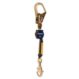 Nano-Lok™ Self Retracting Lifeline with Anchor Hook - Web - Swiveling Steel Rebar Hook/Swiveling Snap Hook