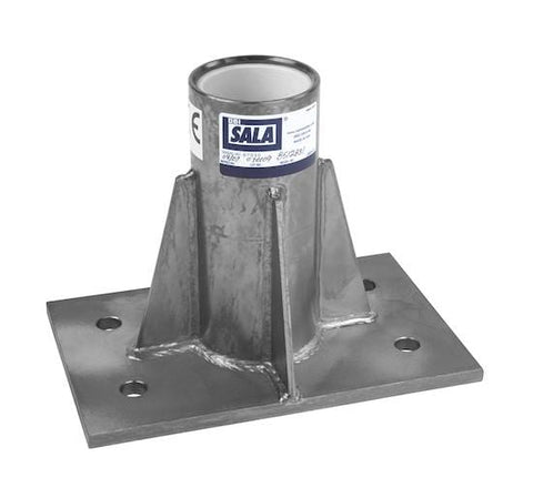 Advanced™ Center Mount Sleeve Davit Base stainless steel - Barry Cordage