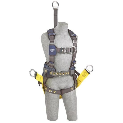 ExoFit NEX™ Oil and Gas Positioning/Climbing Harness (size Large) - Barry Cordage