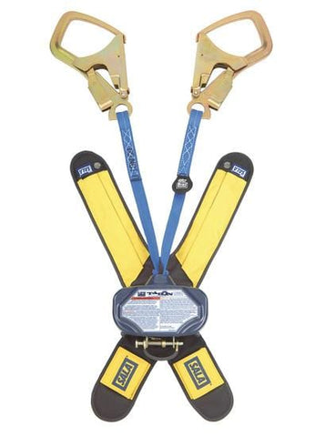 Talon™ Twin-Leg Quick Connect Self Retracting Lifeline - Web 6 ft. (1.8m) Saflok-Max™ steel rebar hooks - Barry Cordage