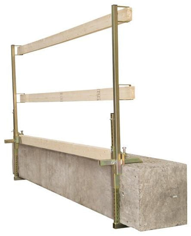 Portable Construction Guardrail