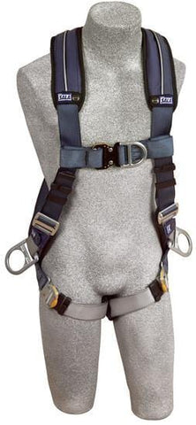 ExoFit™ XP Vest-Style Positioning/Climbing Harness (size Medium). - Barry Cordage
