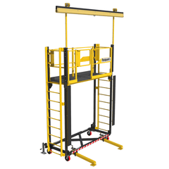 FlexiGuard™ Supported Ladder System  with 9 ft. (2.7m) platform height - Barry Cordage
