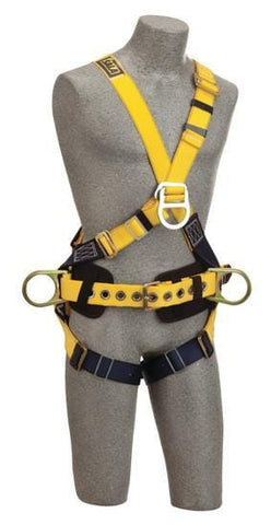 Delta™ Cross-Over Construction Style Climbing Harness (size Medium) - Barry Cordage