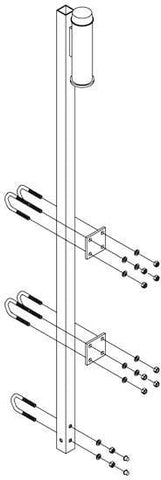 Lad-Saf™ Top Bracket for Fixed Ladder - Barry Cordage