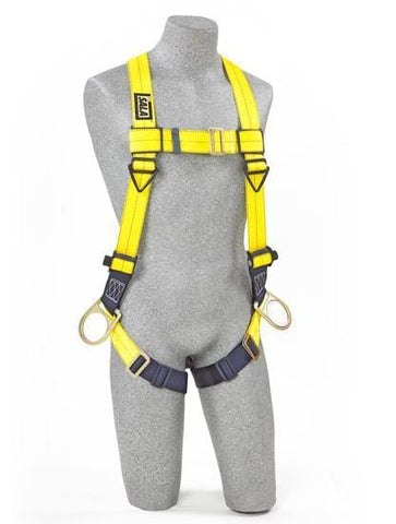 Delta™ Vest-Style Positioning Harness pass-thru buckle leg straps (size Universal) - Barry Cordage