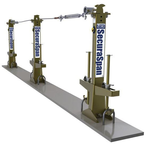 SecuraSpan™ Loop Rebar Horizontal Lifeline System