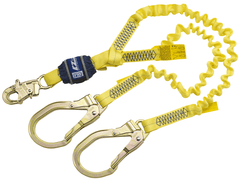 EZ-Stop™ 100% Tie-Off Shock Absorbing Lanyard 6 ft. (1.8m) - Barry Cordage