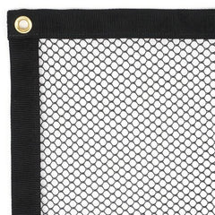 Safety Mesh Panel - Barrytex Polyester (3/8) with grommet - Barry Cordage