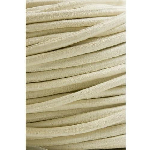 Cotton-Covered Elastic Rope