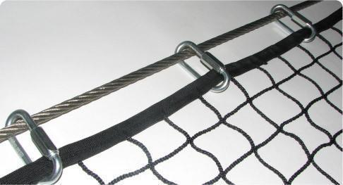 Industrial Safety Netting - Nets, Industrial and Mining Safety Netting, Debris Nets and Machine Guarding Nets
