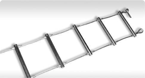 Webbing and Steel Cable Ladder