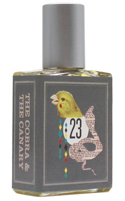 The Cobra and the Canary sample Indigo Perfumery has niche and natural perfumes and artistic fragrances, and concierge service. www.indigoperfumery.com.