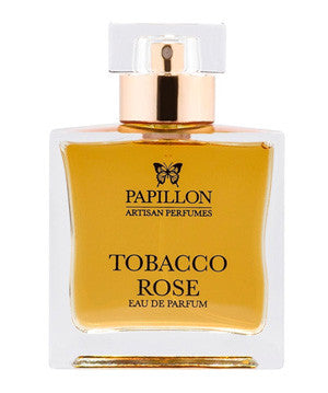 Tobacco Rose by Papillon at Indigo Perfumery Indigo Perfumery has niche and natural perfumes and artistic fragrances, and concierge service. www.indigoperfumery.com.