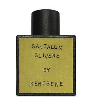 Santalum Slivers sample Indigo Perfumery has niche and natural perfumes and artistic fragrances, and concierge service. www.indigoperfumery.com.