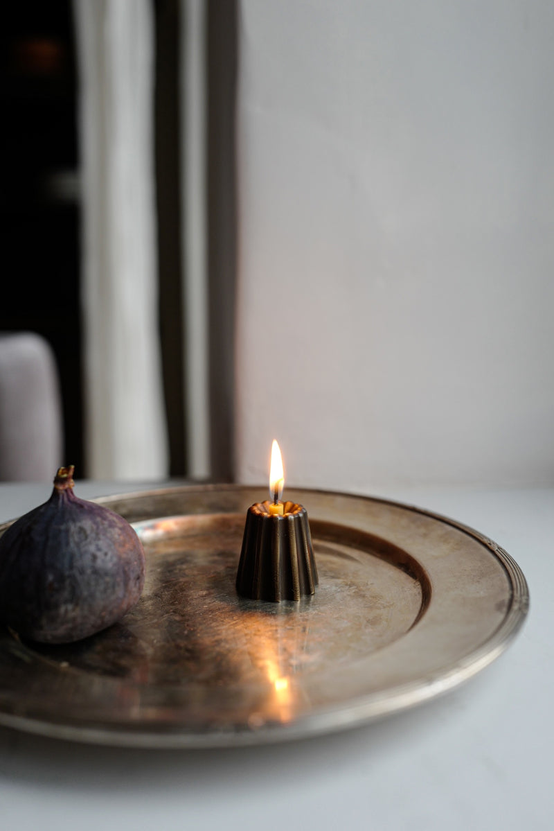 Bronze Candle Holder