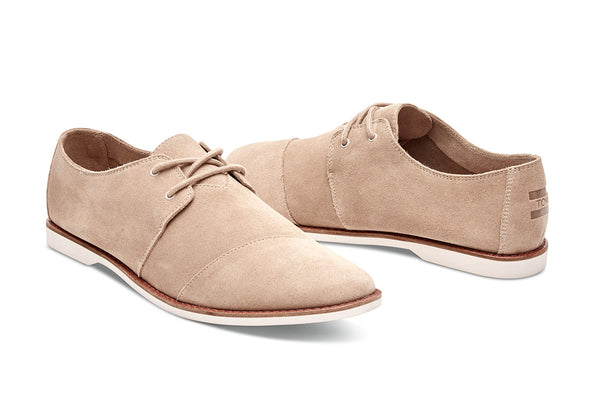 Toms Oxford Tan Suede Mens Hensleys