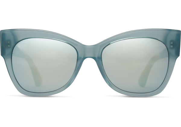 TOMS Autry Powder Blue Crystal Sunglasses