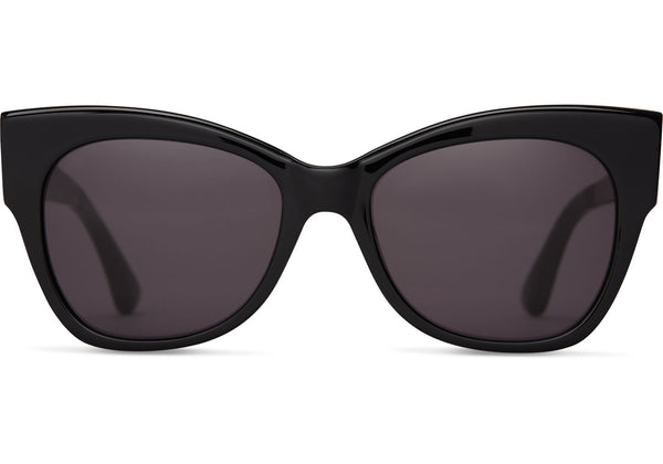 TOMS Autry Shiny Black Sunglasses