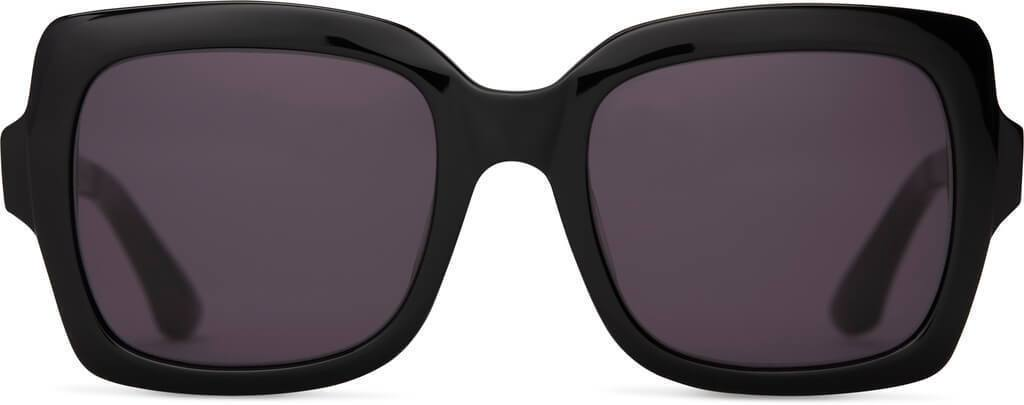 TOMS Mackenzie Shiny Black Sunglasses