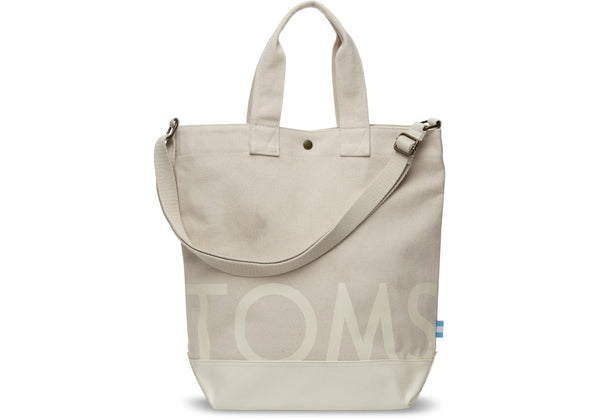 TOMS Canvas Compass Tote