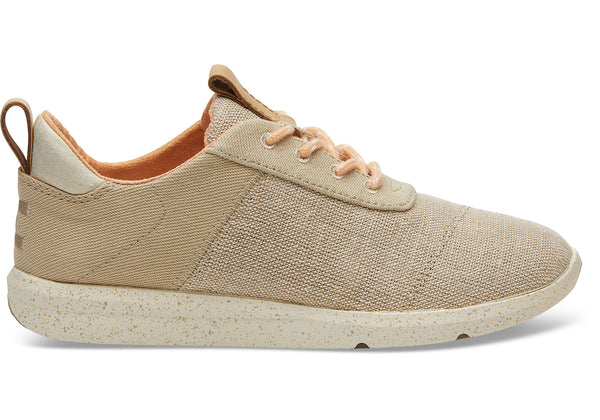 Toms Natural Heritage Canvas and Textured Twill Women's Cabrillo Sneakers