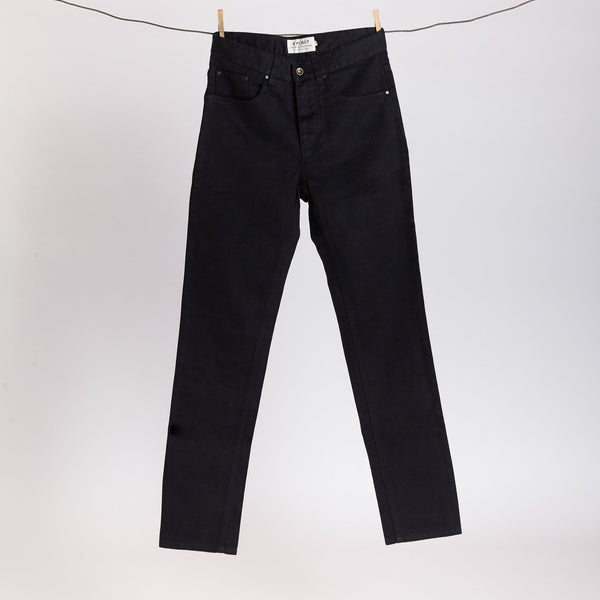 Spirit Natural Clothing Black Hemp Jeans