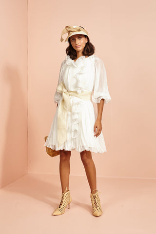 Binny Poppadom Pleat Dress