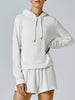 Running Bare All The Feels Hoodie - Ivory