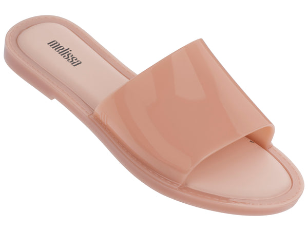 Melissa Soul Slide in Nude Translucent