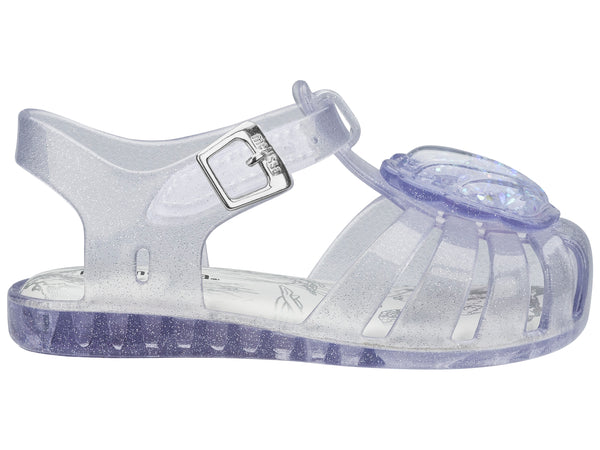 Melissa Mini Aranha Shell Clear Glitter