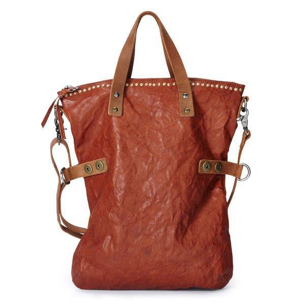 NOOSA Amsterdam Nivkh Shopper Mid Brown